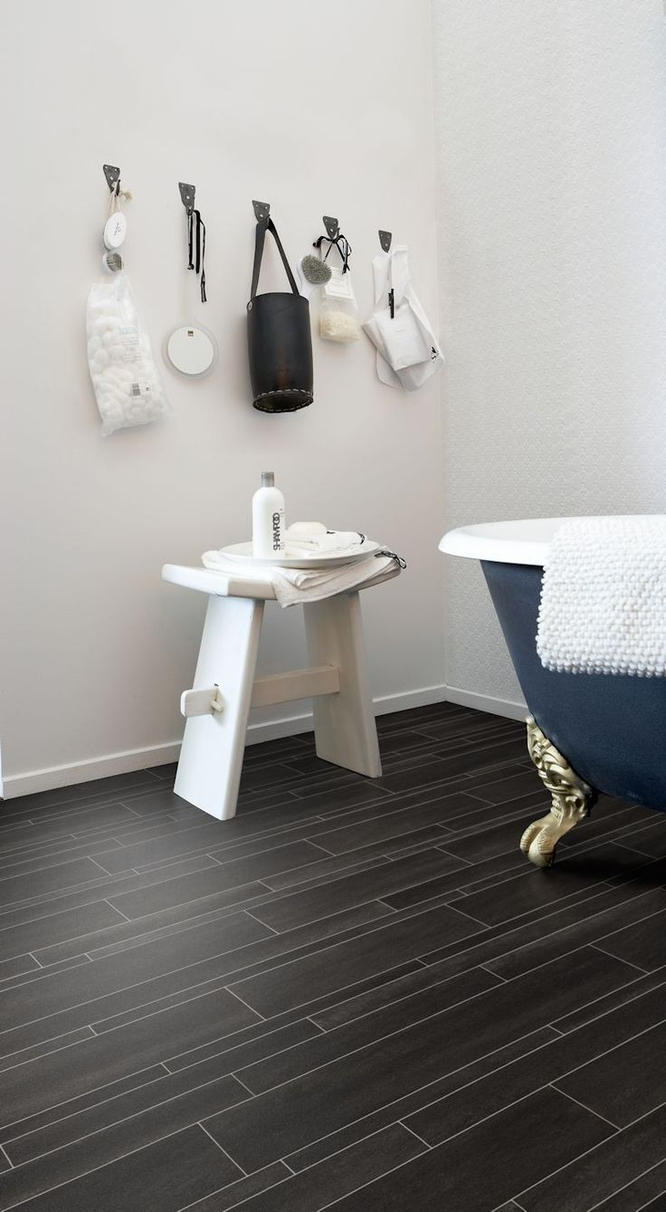 18 best designatex images on pinterest vinyl flooring ranges create a graphic effect in your bathroom or any other room in the home using noir slate stone effect vinyl flooring from the designatex range jameslax Choice Image