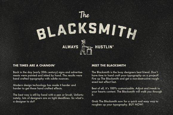 Check out RetroSupply - The Blacksmith by RetroSupply Co. on Creative Market