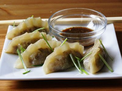 Gyoza  Full recipe from maple•spice: