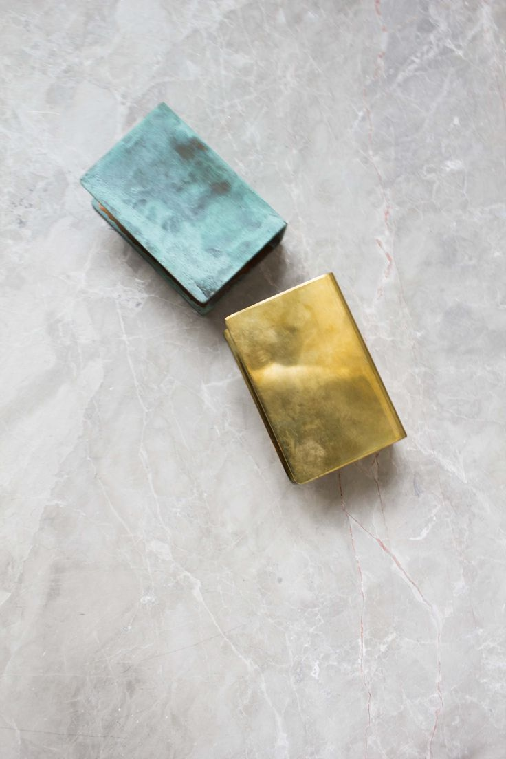 ANOUR finishes - Brass and oxidised copper - Lamp
