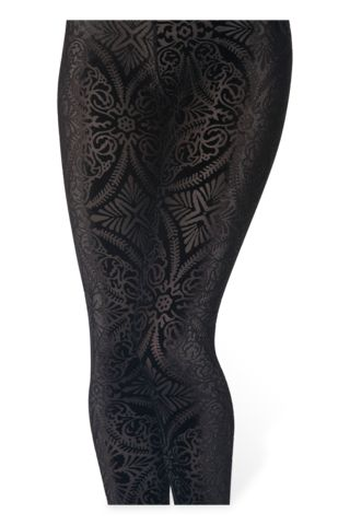 Burned Velvet Leggings | Black Milk Clothing