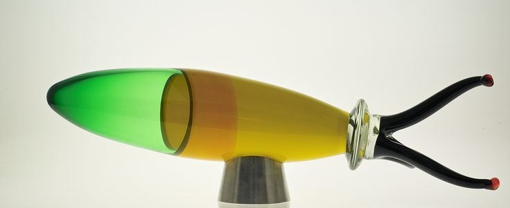 Glass sculpture by Red Hot Glass, contemporary glassblowing studio