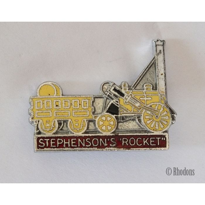 Stephensons Rocket, Steam Locomotive Enamel Lapel Pin Badge / Railway Badge Listing in the Enamel Badges & Pinbacks,Badges, Pinbacks & Patches,Collectables Category on eBid United Kingdom | 145238314