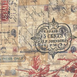 Tim Holtz - Correspondence II - Special Delivery in Neutral
