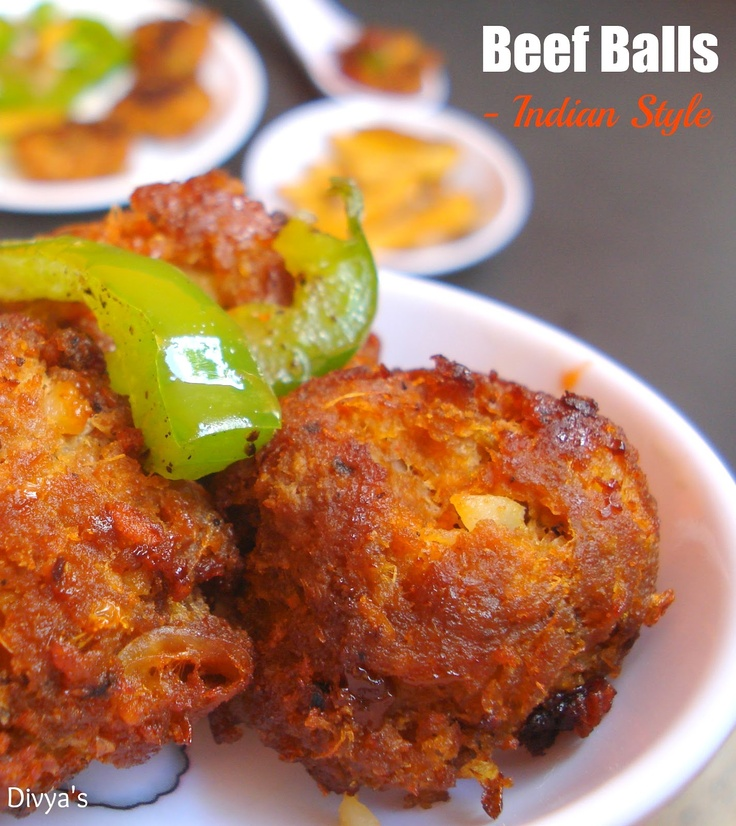 Indian Style Beef Balls :: Tasty Party Apps