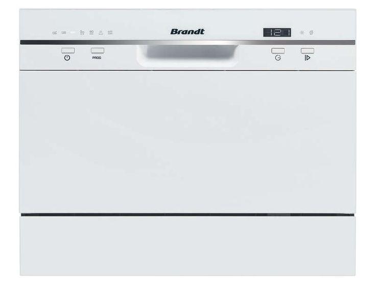 Lave vaisselle compact 6 couverts BRANDT DFC 6519W - BRANDT - Petits prix et grandes marques, c'est sur Conforama.fr ! Equipez votre maison à prix discount.