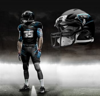 Carolina Panthers New Uniforms   Nike Pro Combat NFL Uniforms: What the League's Uniforms Could Look ...