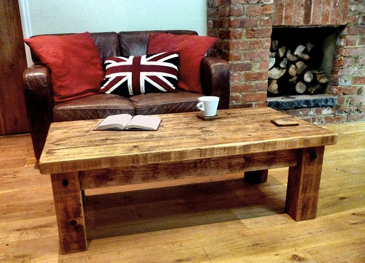Rustic Traditional Coffee Table | Ben Simpson Furniture