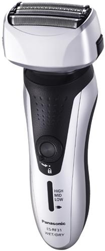 "(CLICK IMAGE TWICE FOR DETAILS AND PRICING) Panasonic ES-RF31-Q-R Rechargable 4 Blade Shaver. ""Panasonic ESRF31Q  The Panasonic ESRF31 is a stylish premium 4-Blade shaver incorporates leading edge technologies giving superior results. The multi-arc foils is the perfect solution for hard to reach hairs like .... See More Panasonic Shavers at http://www.ourgreatshop.com/Panasonic-Shavers-C382.aspx"