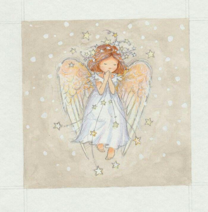 Авторские открытки с ангелами, гифки пингвины