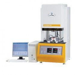 Rheometer merupakan suatu instrument yang berfungsi untuk menguji sifat polimer pada karet saat, sebelum dan selama karet tersebut dipakai. Dan juga merupakan pengembangan fungsi dari viscometer yang menguji sifat polimer karet saat sebelum dipakai.