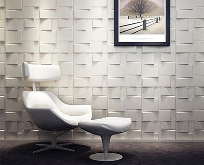 Rubik-3D-Board-Wall-Panels-Modern-Designer-Wallpaper-Textured ...