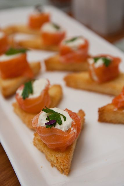 Cured Salmon Toast 2 | Flickr - Photo Sharing!