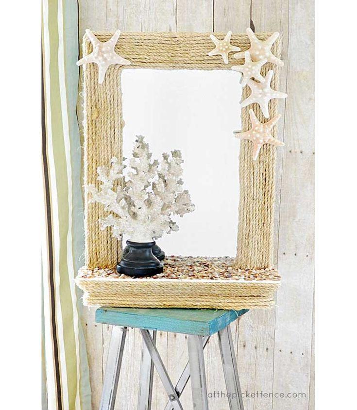 Beach Style Mirror Decor