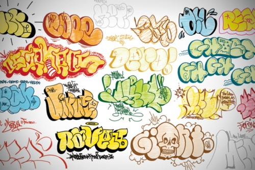Throw-up styles