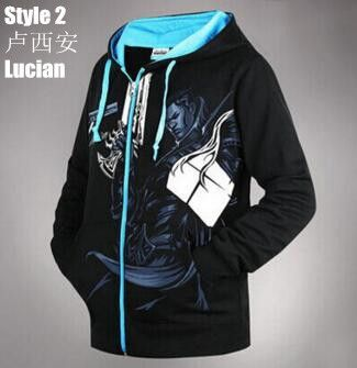 Men's Hoodies, Hoodies, Plus Velvet luminous Light Night