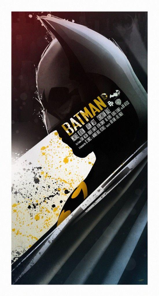 Batman 75th anniversary by Andy Fairhurst