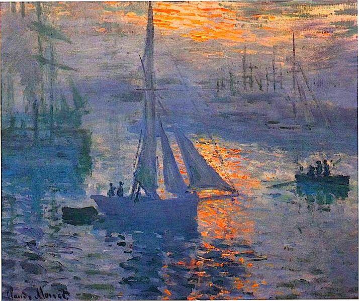 Claude Monet . Este es un cuadro que me gusta y que voy a pintar. Ya tengo varios de Monet.