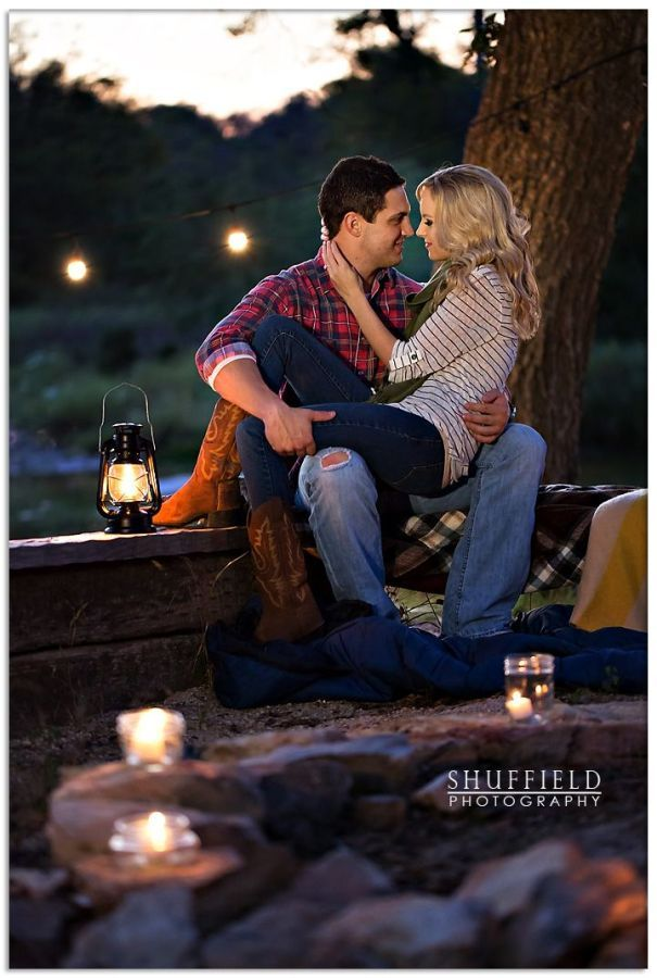 Engagement photos....sure wish we could have done ours in the FALL