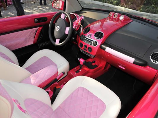 my favorite seats minus the flamingo Pink Lowrider Car's Interior | Pink car interiors
