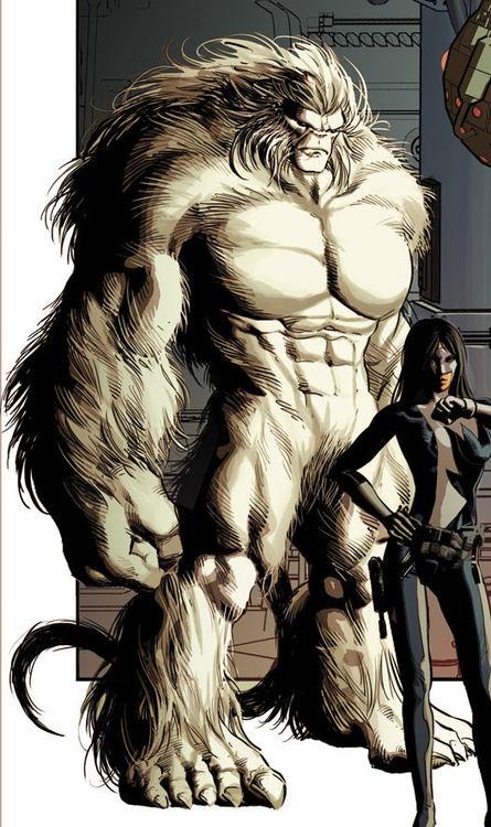 Sasquatch of Alpha Flight/Marvel Comics