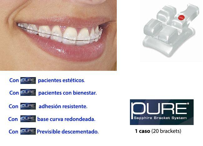 Pure Bracket Zafiro de @OrthoTechnology