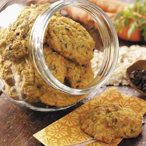 Carrot Oatmeal Cookies - a great way to use carrots when you overplanted and have too many for the fridge and freezer.