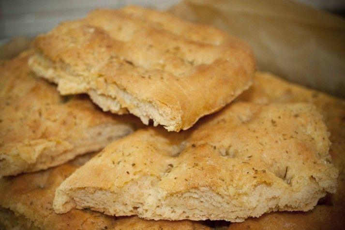 Cucinare con amore: Toskánské chlebové placky