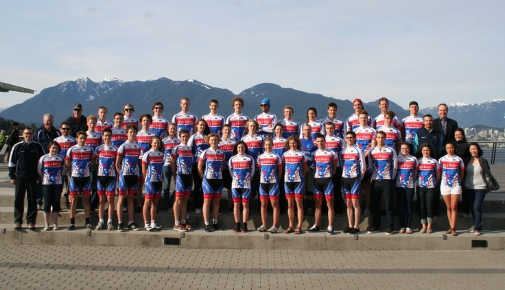 Cycling BC 2011 team photo | Adera supports elite youth teams to allow young BC athletes to achieve their maximum potential.