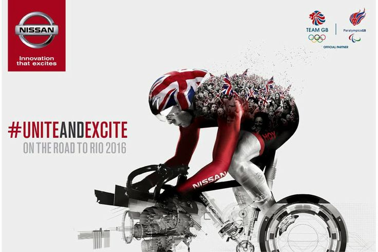 Sir Chris Hoy and Richard Whitehead MBE announced as Nissan ambassadors for Team GB & Paralympics GB partnership, more... http://www.wheelsology.com/2014/01/sir-chris-hoy-and-richard-whitehead-mbe.html