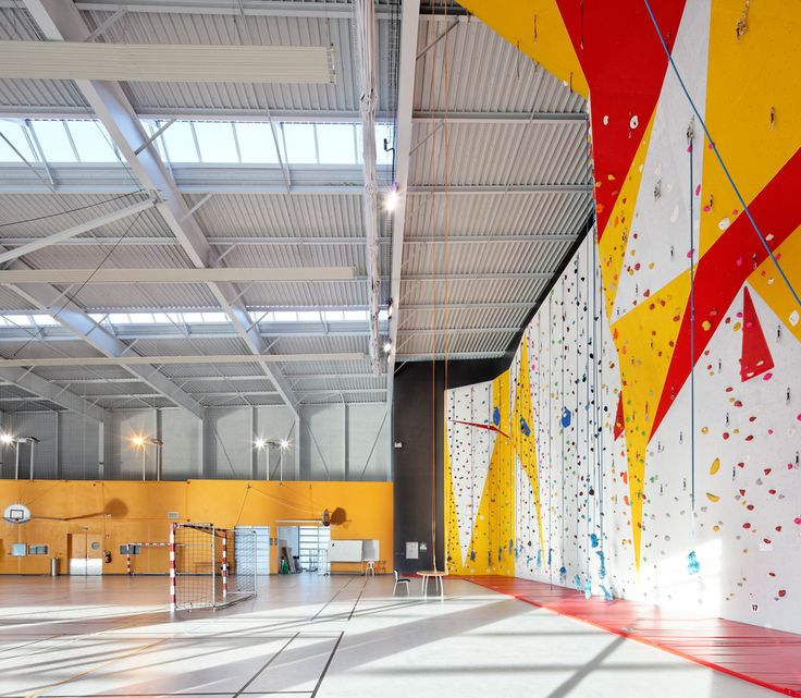 Gallery of Gymnasium Dieppe / Chabanne and Partners Architects - 9