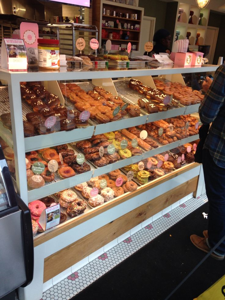Stans donuts, Chicago  I like the bakery case!