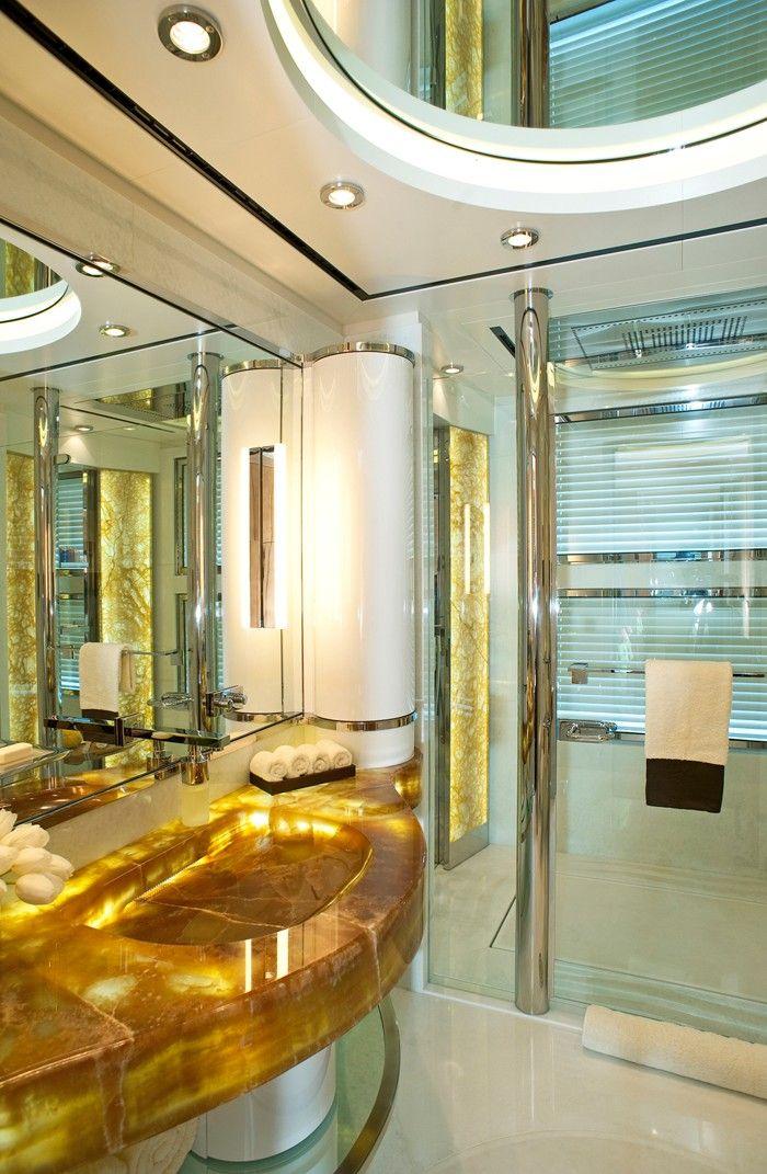 Palladium Superyacht Guest Bathroom