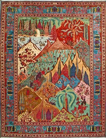 rug oriental iranian rugs guide to persian prayer a
