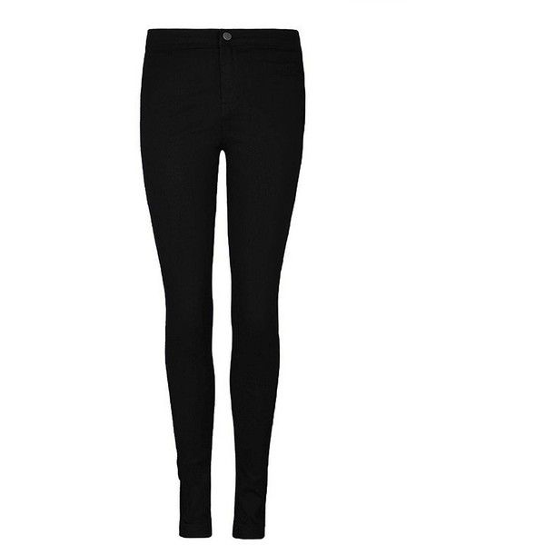 Yoins Black High Waist Skinny Jeans ($18) ❤ liked on Polyvore featuring jeans, pants, bottoms, pantalones, skinny jeans, black, denim skinny jeans, high-waisted jeans, stretchy jeans and stretch denim jeans