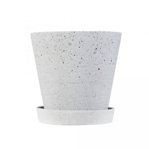 HAY - Flowerpot  grå Pris 69 kr DONE 3 stk ØNSKER 1 stk