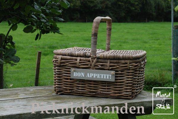 Op zoek naar een mooie, leuke enpraktische picknickmand? Mand & Stijl heeft prachtige picknickmanden in haar assortiment.