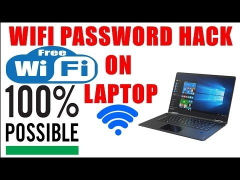 [Solved] || WiFi Password Hack || On Laptop || Windows 10 || 100 % Working - YouTube