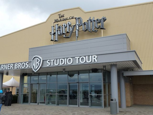 Harry Potter Studio Tour Warner Bros. Leavesden London.