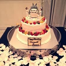 Ghibli themed wedding