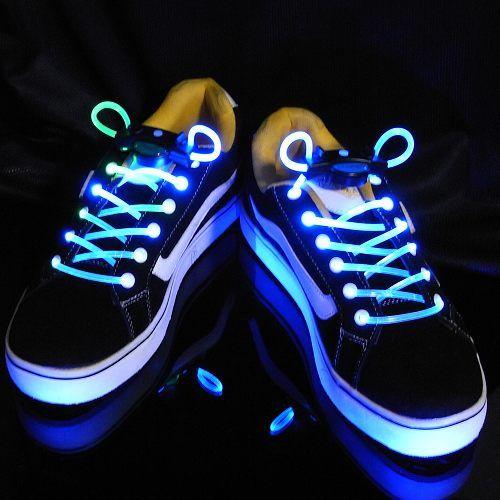 LED Flashing Party Shoelaces