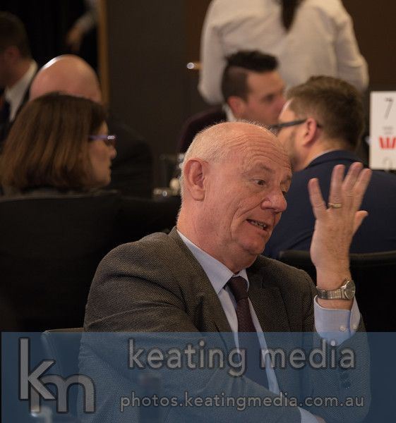 Tim Costello as he chats with Peter Jennings at the National Press Club before they delivered an address as part of the Canberra Writers Festival #cbrwritersfest