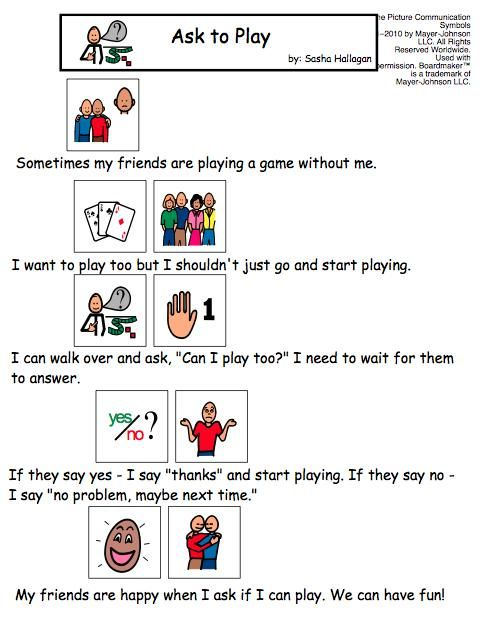 a story about unacceptable behavior from society The goal of social skills instruction is to teach socially acceptable behaviours   social stories are used to help students with disabilities develop social skills.