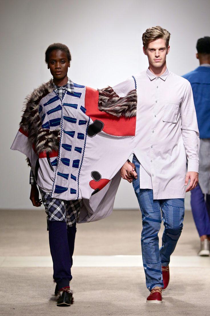 ALC Menswear AW17: Look 7 -- Photo: Simon Deiner at South African Menswear Week