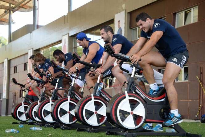 Bike endurance training for rugby