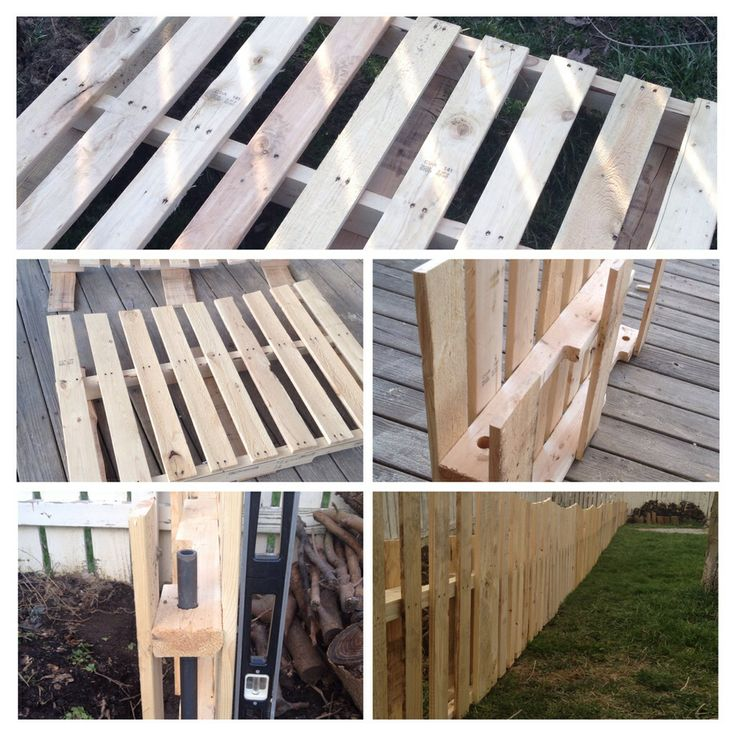 """Skid garden fence pictorial.  Used 36x48 skids  Used 3/4"""" schedule 80 pipe (36"""" long with one side cut at angle for ground penetration) Cut top of skid from template ( all skids look identical 32"""" at points 30"""" in center.  Bored with 1 1/8"""" hole saw.  (3"""" off sides, center of 2x4)  Drove 3/4"""" pipe through both holes into ground 1'. (Over 1/3 of original height of skid) ( wood behind front slats between skids to gang them together.  Overall time for 61' garden fence ( 1 day and 50$ for…"""