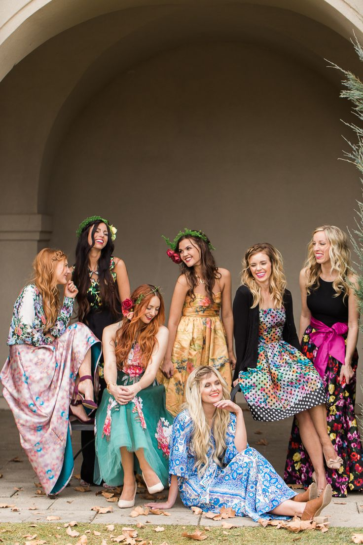 Botanical Bridal Shower: Gossip Girl Meets Pitch Perfect. Photography by http://www.clairemarika.com/