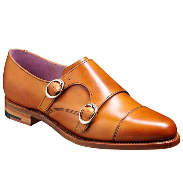 Barker Ladies Shoes – Lucy – Monk Strap – Cedar Calf Calf. Traditional stylish ladies leather double monk strap shoe. Part of the Barker Shoes Ladies Collection – Made in England.