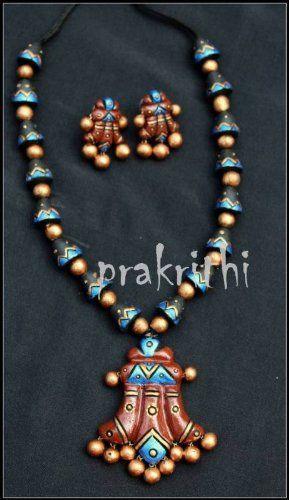 Terracotta jewellery, http://www.junglee.com/dp/B00D8DKU60/ref=cm_sw_cl_pt_dp_B00D8DKU60