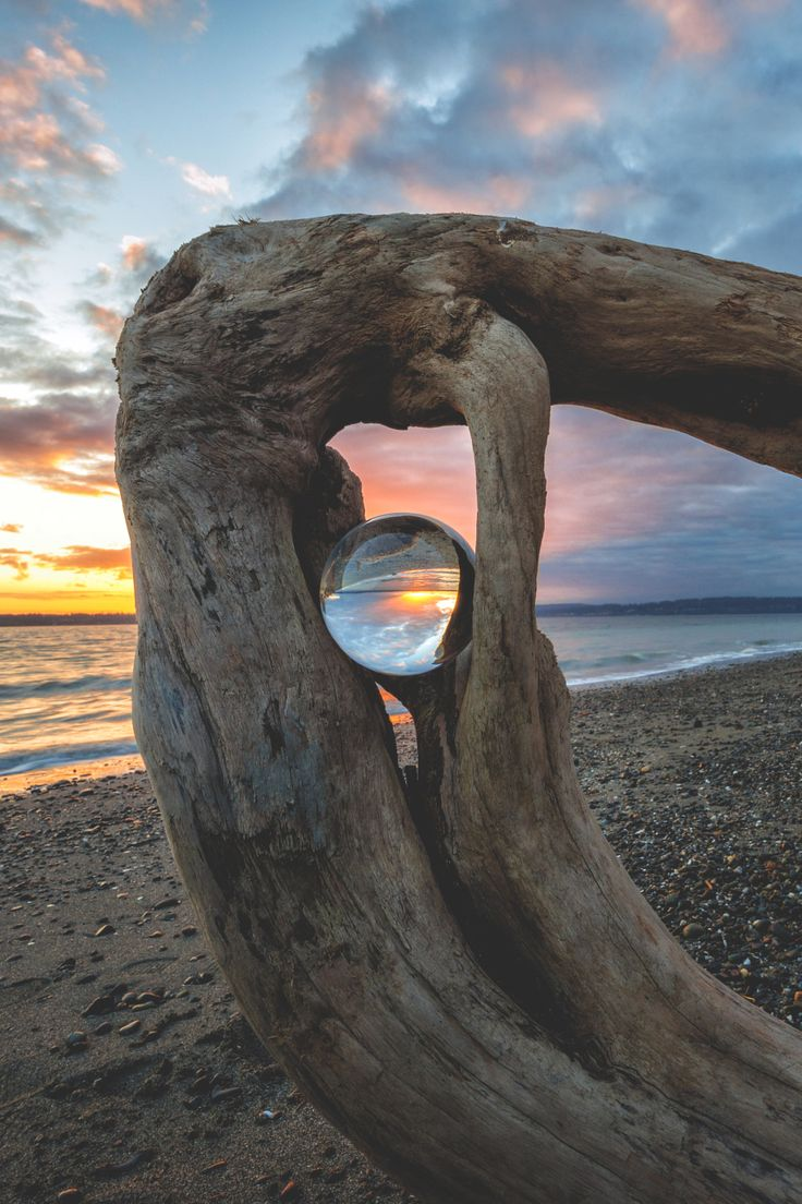 Discovery Park Beach Sunset, Seattle by Dale Johnson - 500px